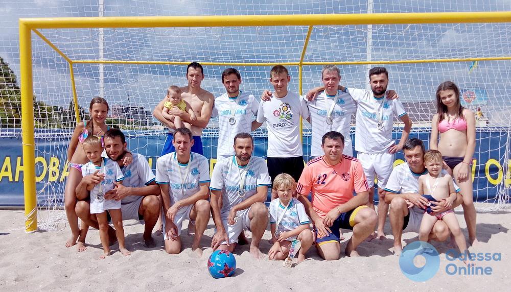 В Одессе определили сильнейшие команды Южной лиги чемпионата Украины по пляжному футболу