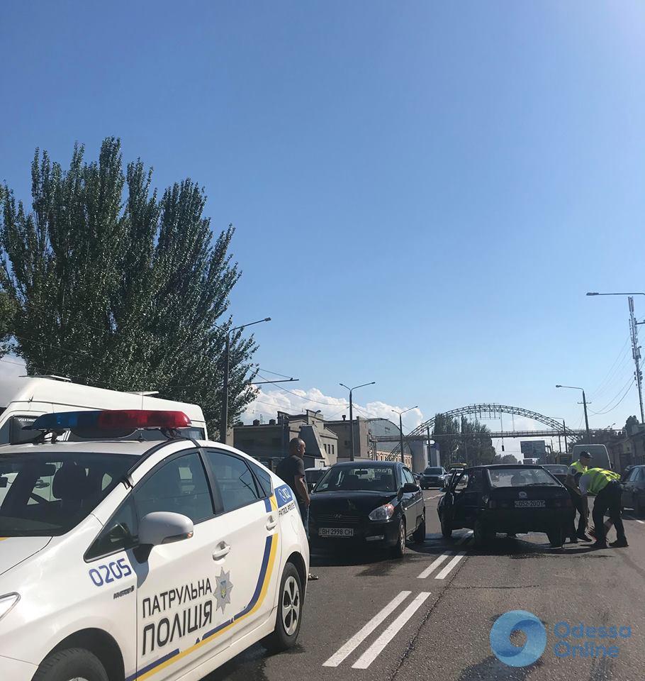 На Николаевской дороге произошли два «соседних» ДТП