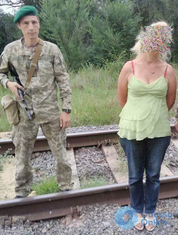 В Одесской области пограничники задержали нарушительницу госграницы