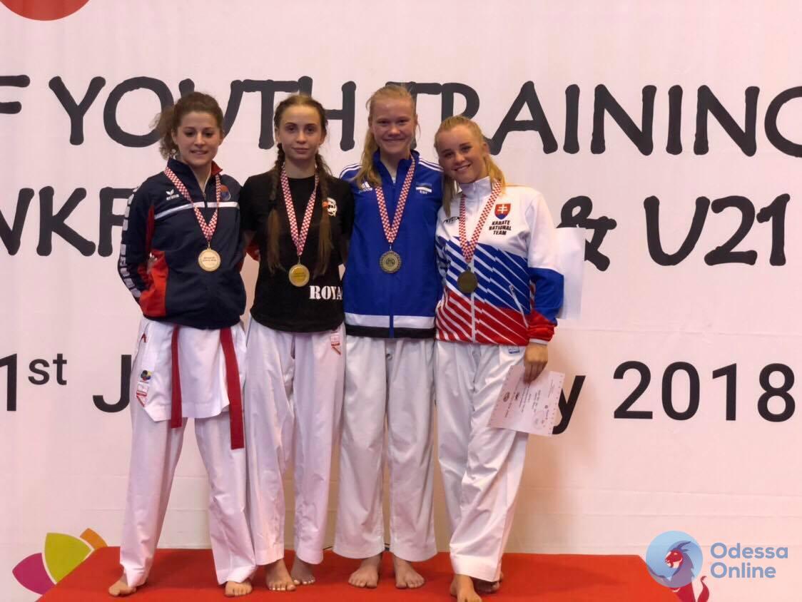 Одесситы успешно выступили в престижном международном турнире по каратэ в Хорватии