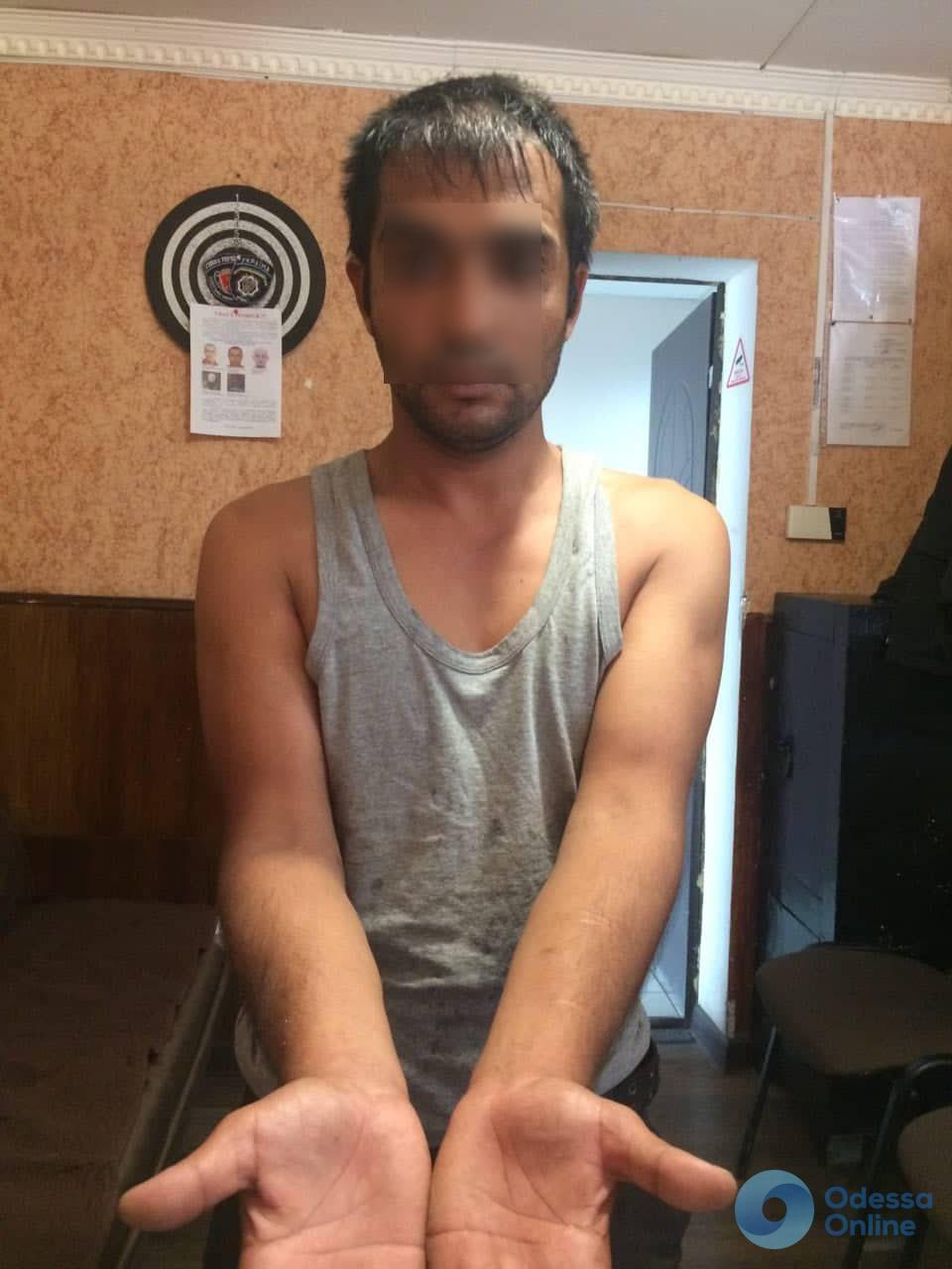 В Одессе задержали серийного грабителя