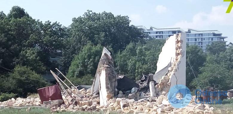 В Одессе прогремел взрыв