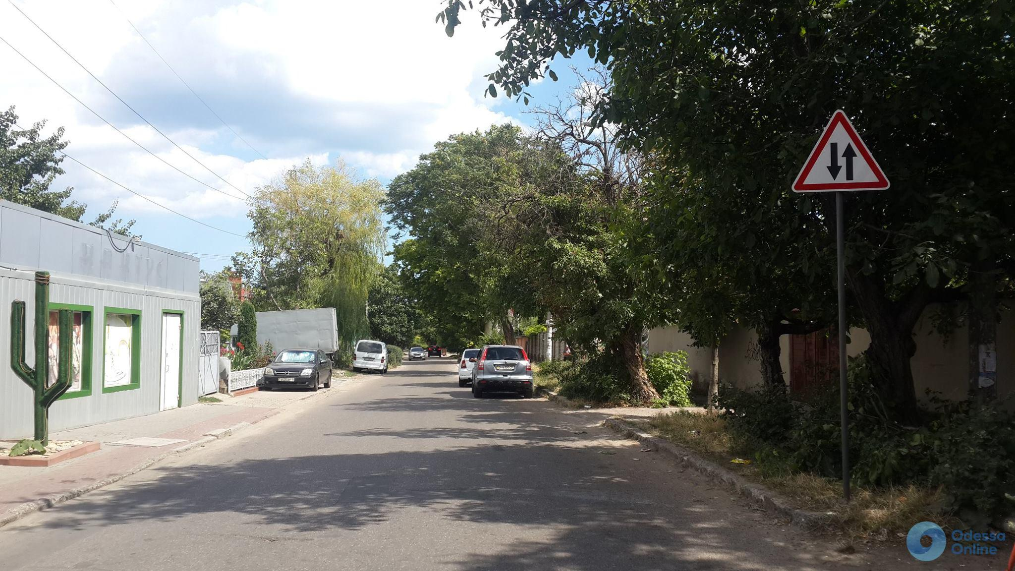 Одесса: на Дмитрия Донского появились дополнительные дорожные знаки