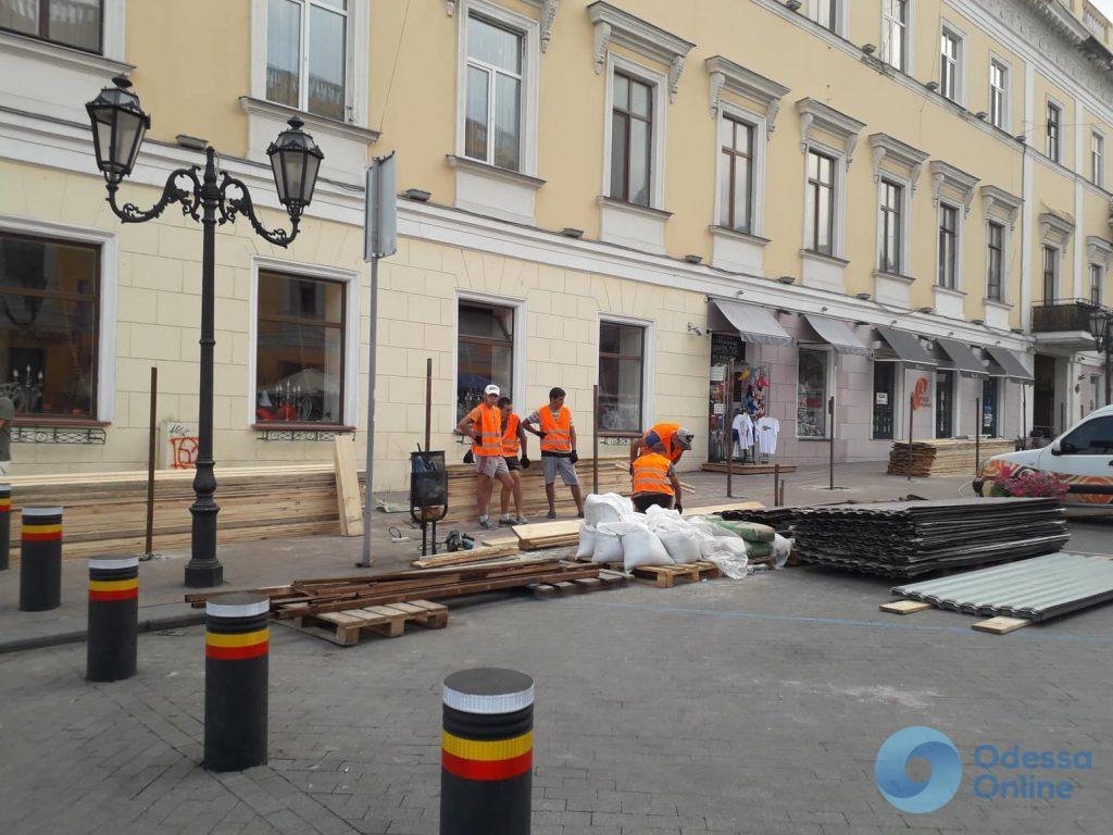 В Одессе займутся реставрацией второго полуциркульного здания у Дюка