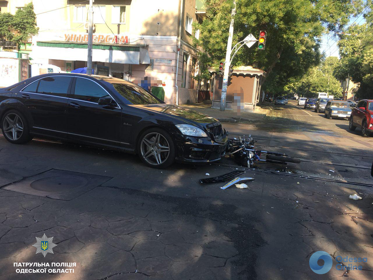 В Одессе на улице Преображенской произошло ДТП (обновлено)