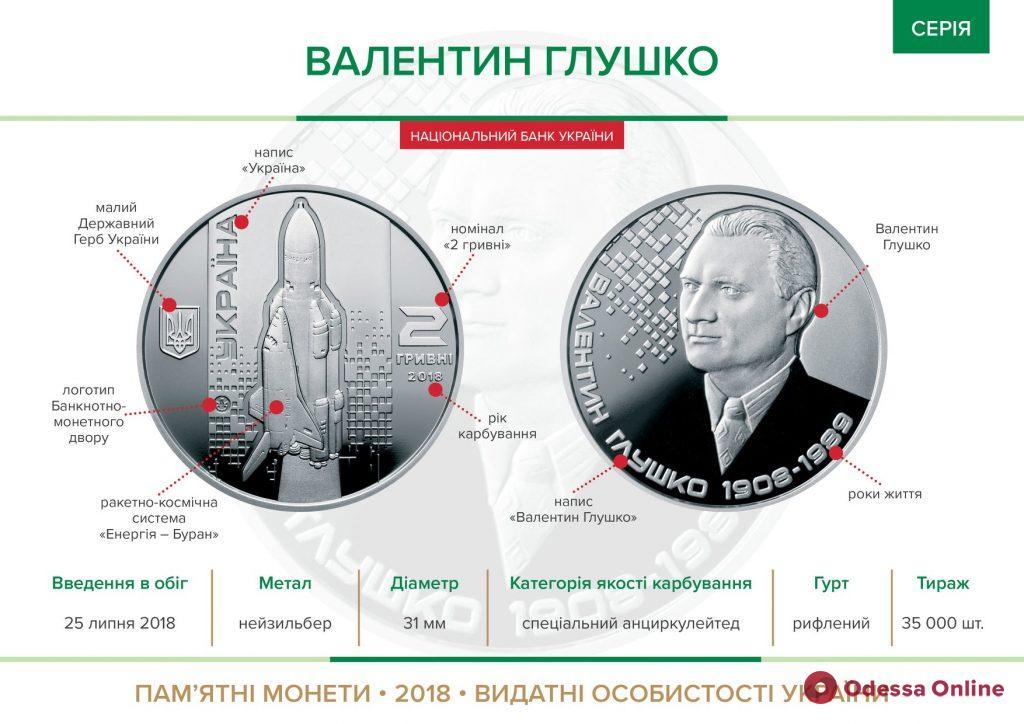 Нацбанк выпустил монету в честь выдающегося одессита