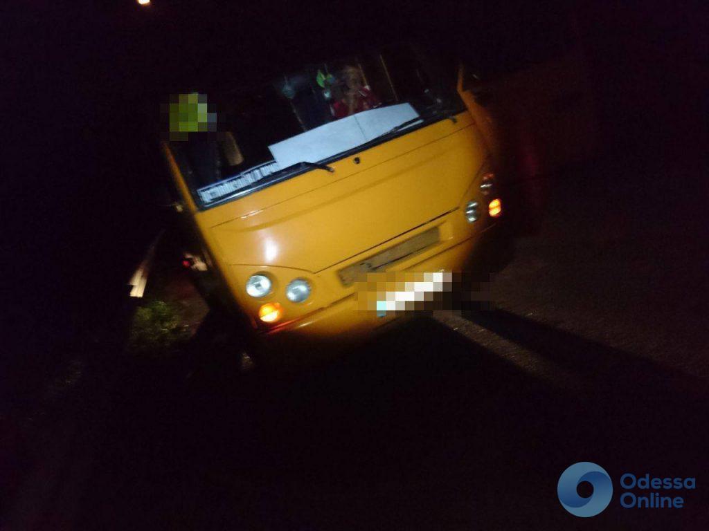 На трассе Киев-Одесса задержали водителя пассажирского автобуса с поддельными документами