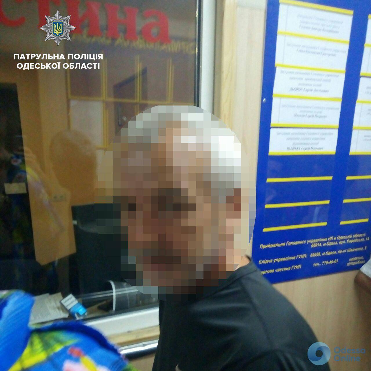В Одессе задержали троих грабителей