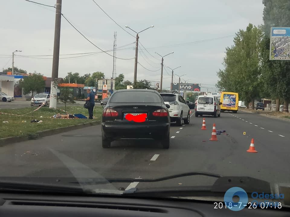 Одесса: на Днепропетровской дороге погиб пешеход