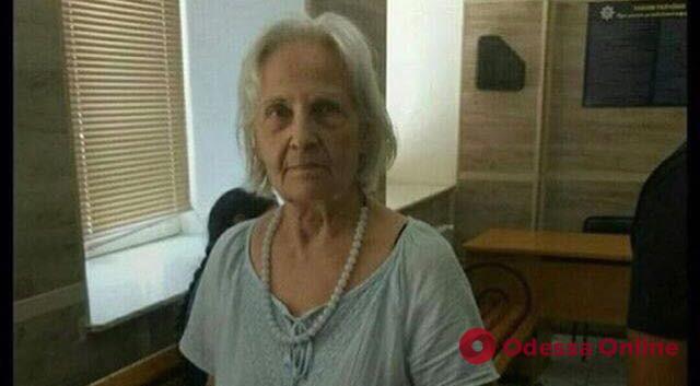 В Одессе ищут родственников потерявшейся женщины