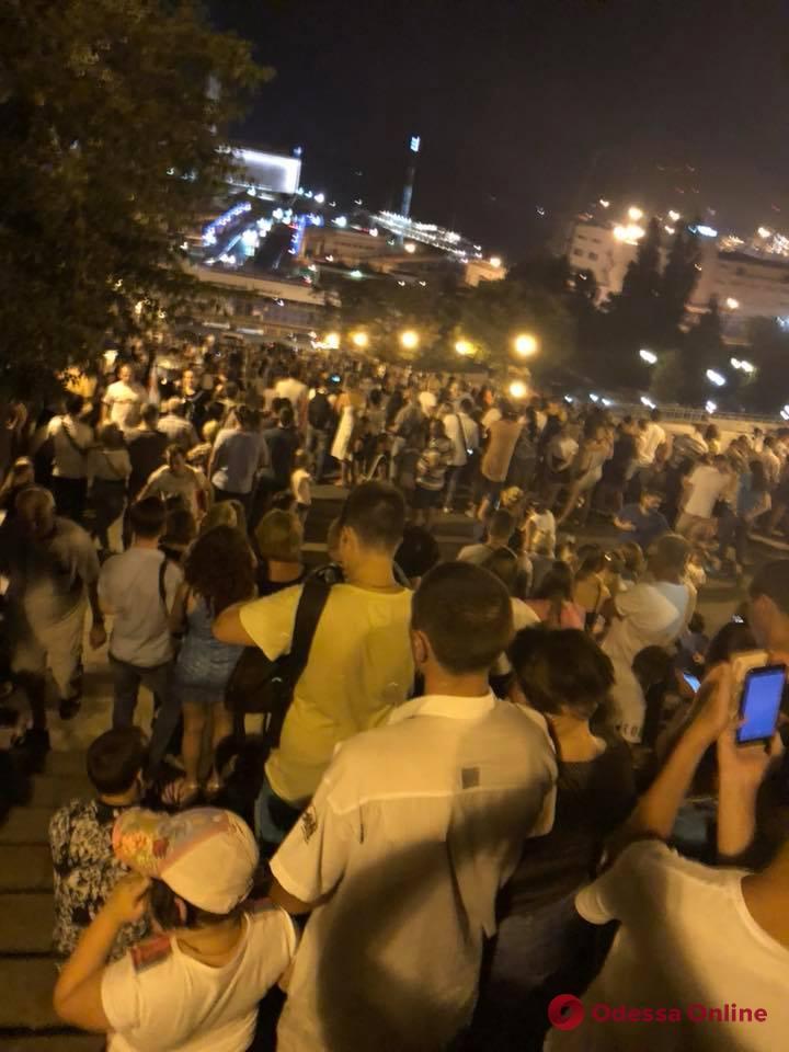 Одесса: фестиваль фейерверков-2018 оказался фейком