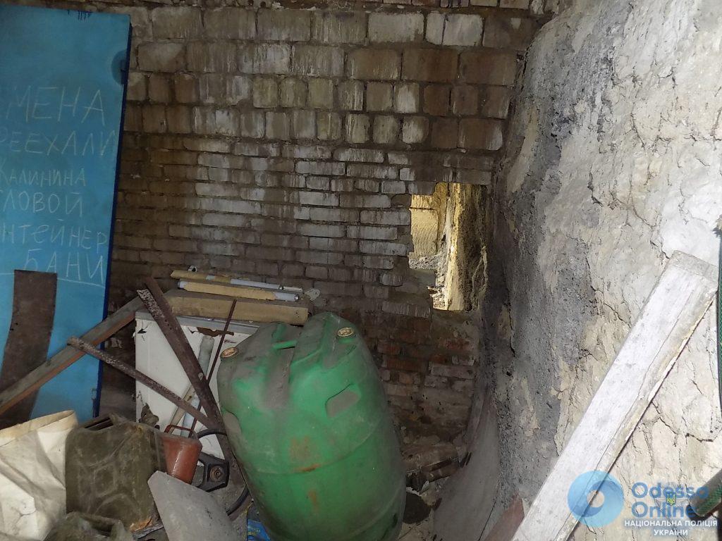 Проламывал стены: подольчанин «чистил» заброшенные гаражи
