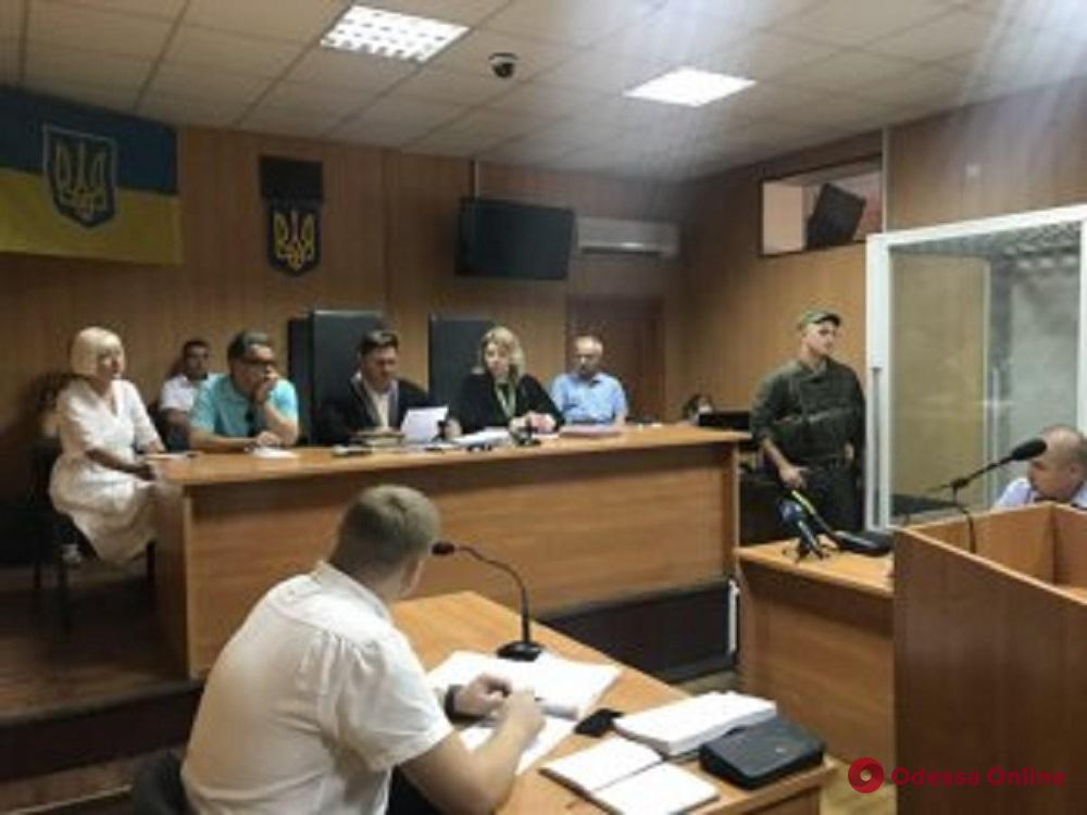 Убийца сотрудницы Одесского СИЗО требовал отвода судьи