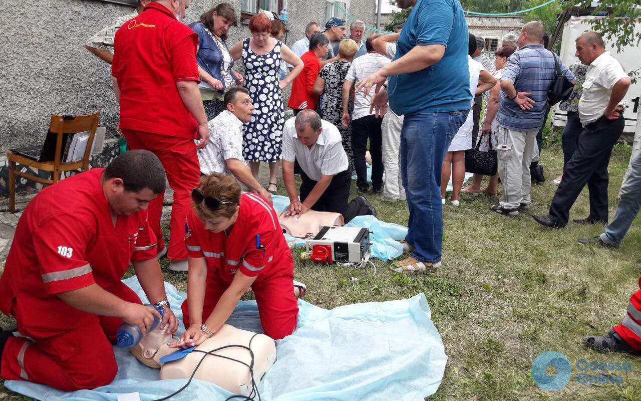 В Одесской области врачей скорой помощи проверят на профпригодность