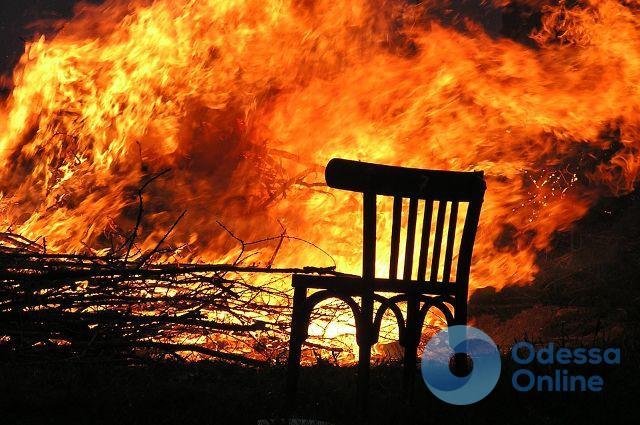 В Одессе загорелся частный дом: погибли два человека