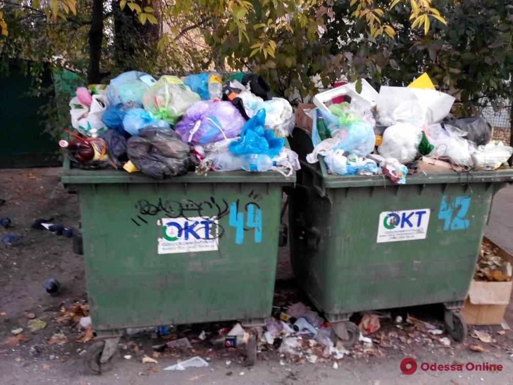 В Одессе вырастут тарифы на вывоз мусора