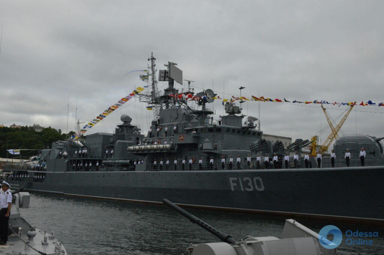 В Одессе отмечают День Военно-морских сил Украины