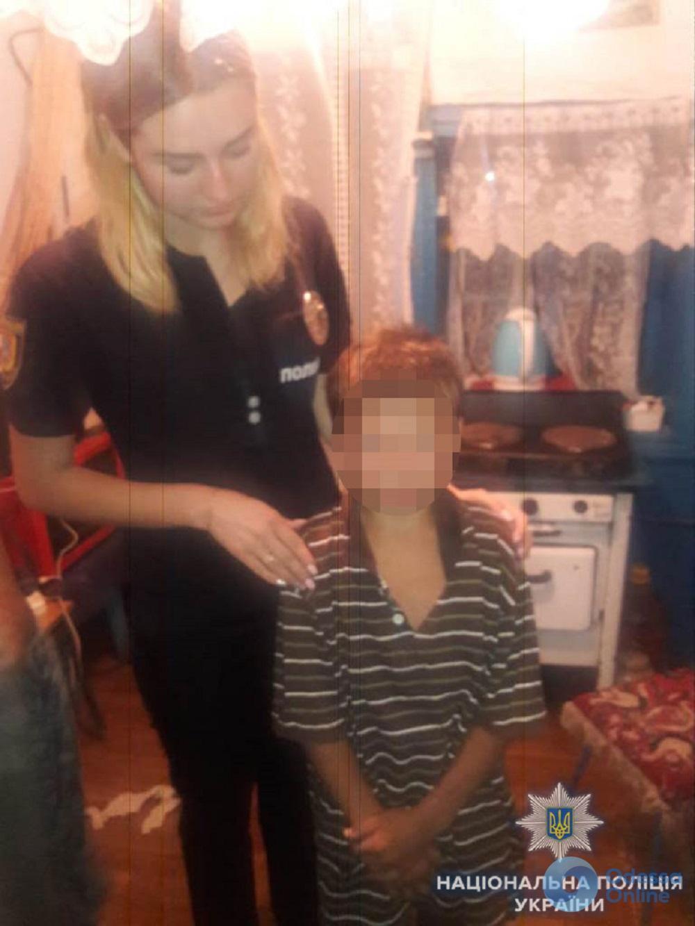 Поссорился с отчимом: в Одесской области полицейские вернули матери сбежавшего сына