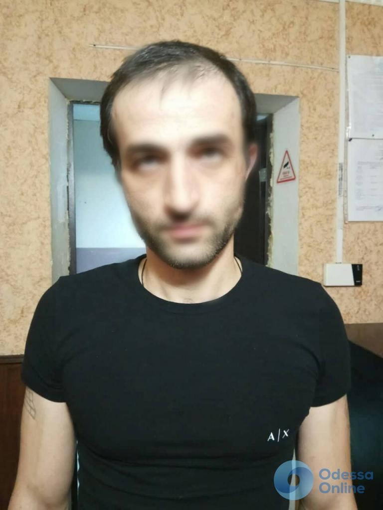 Одесса: в ночном клубе задержали грузина-хулигана