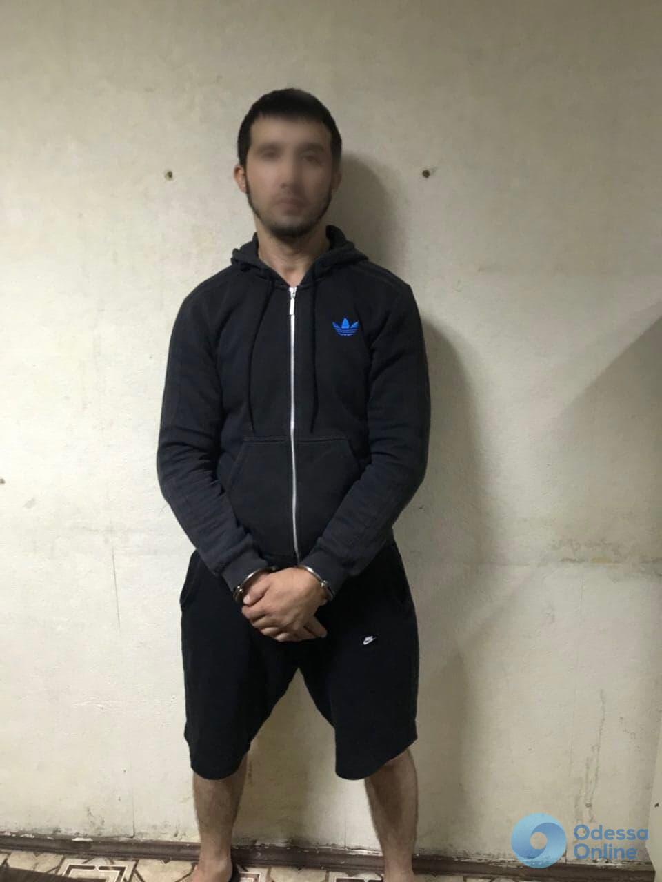 В Одессе задержали азиатского разбойника
