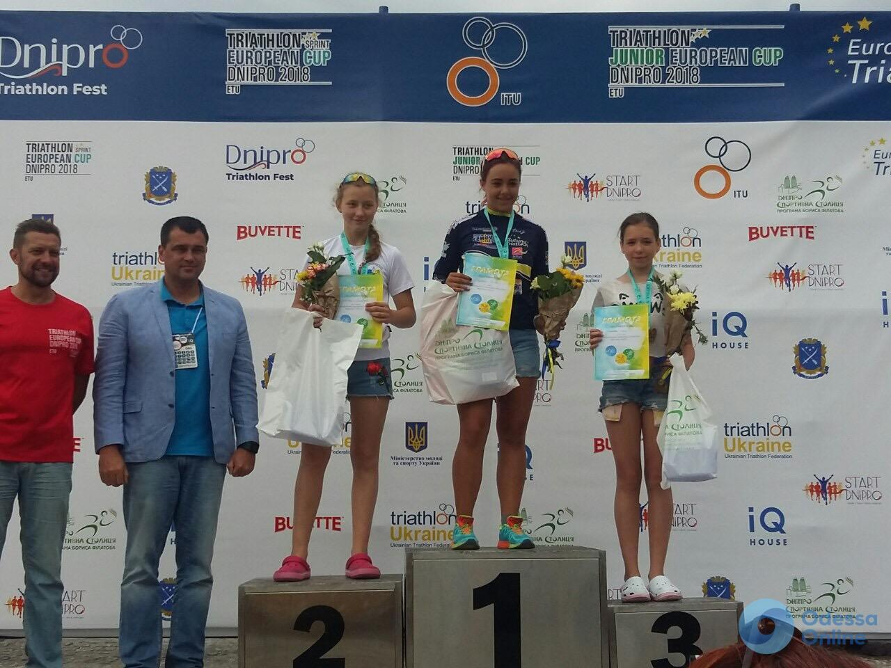Одесские триатлеты завоевали медали нескольких всеукраинских и международных турниров