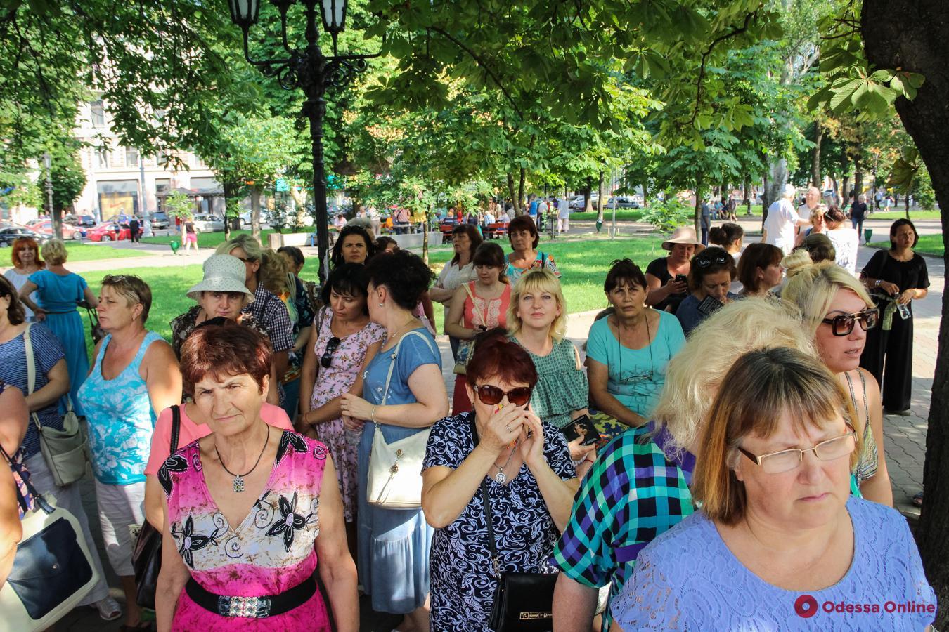 Одесса: на Соборной площади учили, как не попасть в рабство