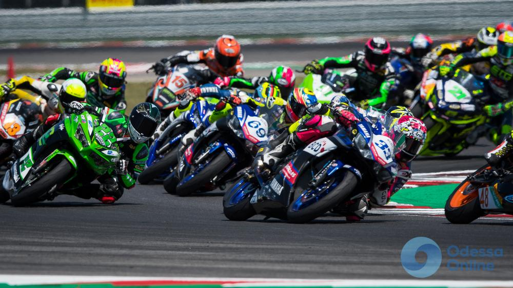 Одесский мотогонщик снова попал в аварию на этапе чемпионата мира в Италии