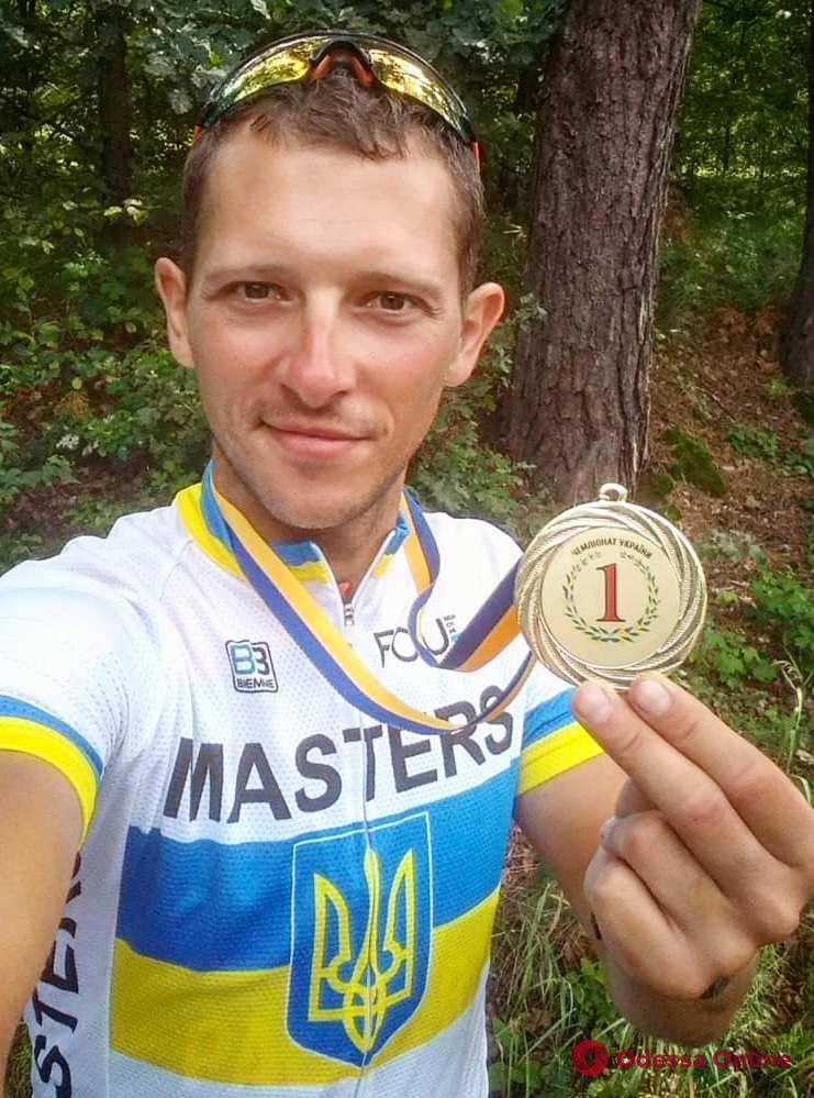Одесситы успешно выступили на чемпионате Украины по велоспорту: в призерах – участник 1949 года рождения