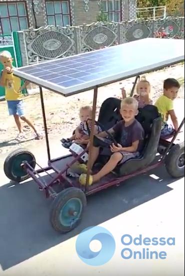 Одесская область: в Килийском районе создали уникальный электромобиль
