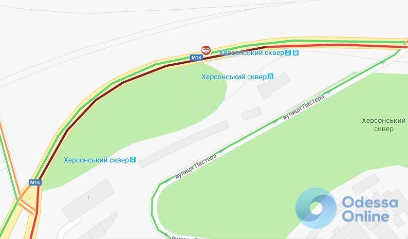 Ситуация на дорогах Одессы: ДТП на Таирова, Фонтанской дороге и Балковской