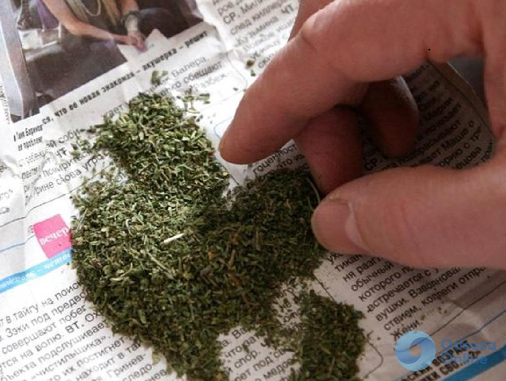 Одессит перевозил марихуану в собственном авто