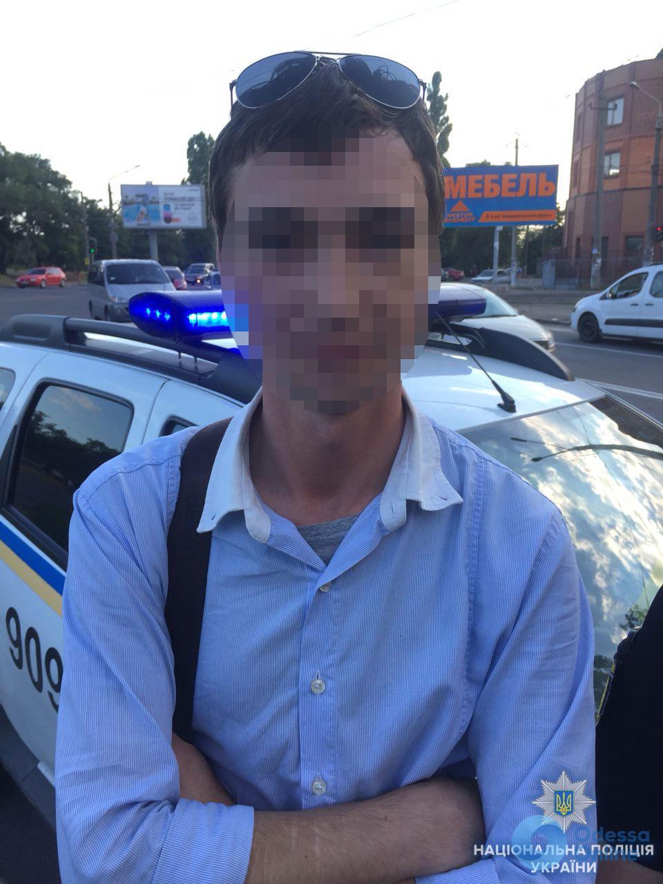 В Одессе задержали маршруточного карманника