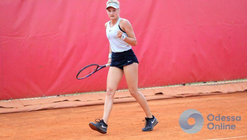 Одесситка выходит в полуфинал теннисного турнира в Будапеште и бьет личный рекорд