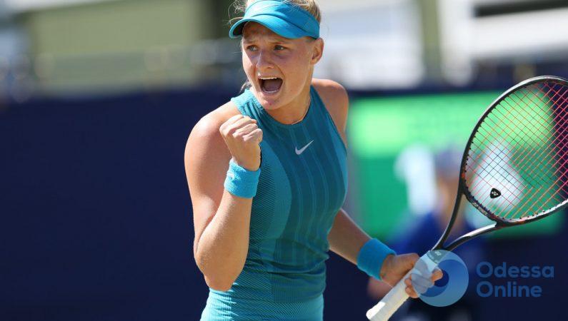 Юная одесситка – в финале теннисного турнира в Риме