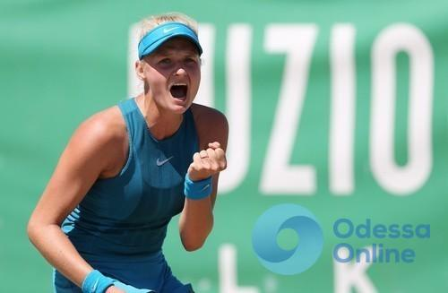 Юная одесская теннисистка вышла в полуфинал турнира в Риме