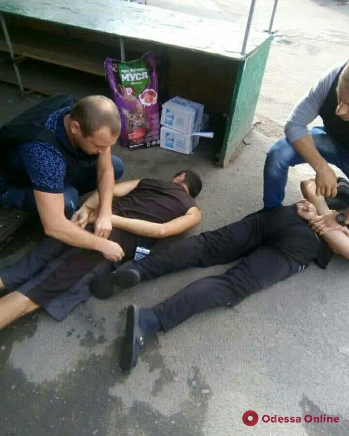 Одесские полицейские задержали угонщика