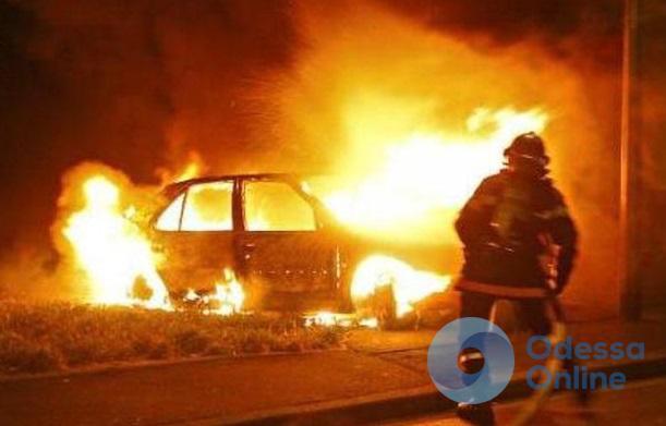 В Одессе сгорели 4 автомобиля