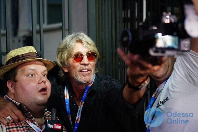 В Одессу прибыл голливудский актер Эрик Робертс (фоторепортаж)