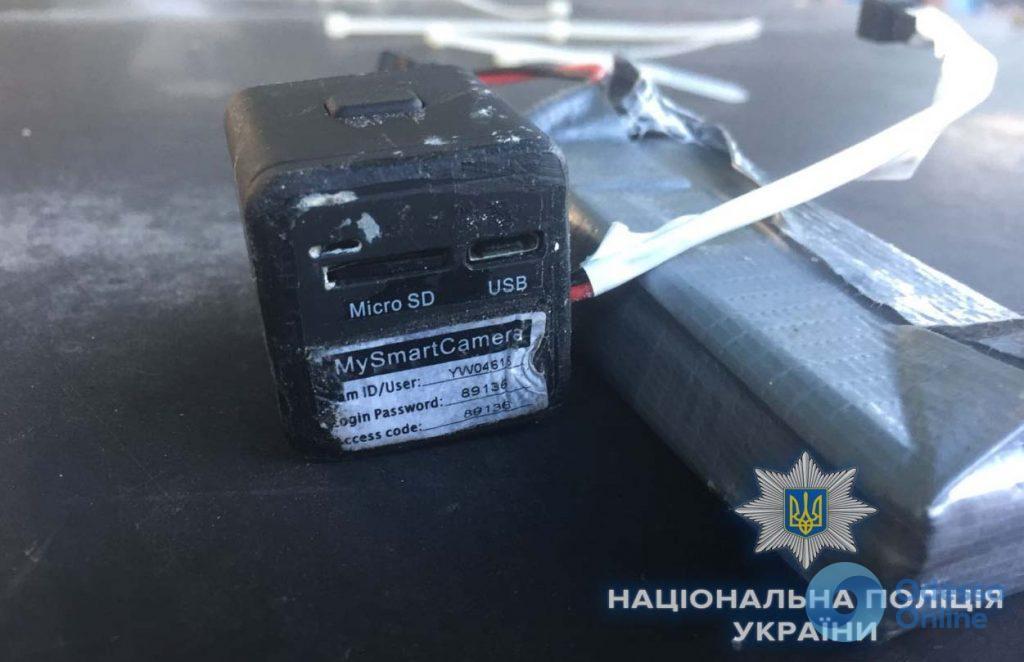 В Одессе задержали квартирных воров (видео)