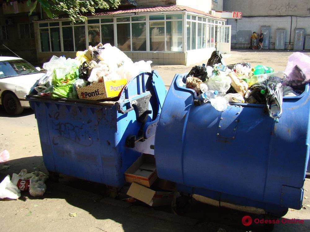 Владельцев одесских МАФов обяжут заключать договоры на вывоз мусора