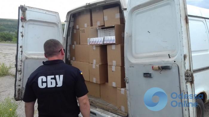 В Одесской области СБУ блокировала контрабанду табака из Приднестровья