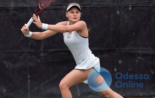 Одесская теннисистка победила в финале турнира в Риме за 39 минут