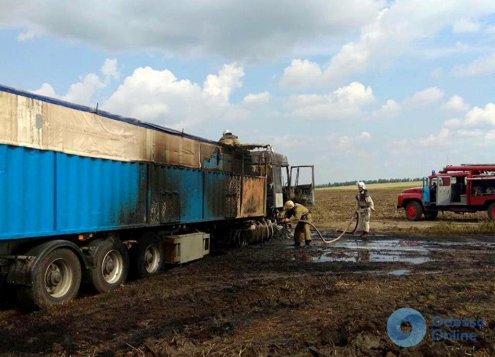 Пожарные Одесской области спасли от огня 20 тонн зерна