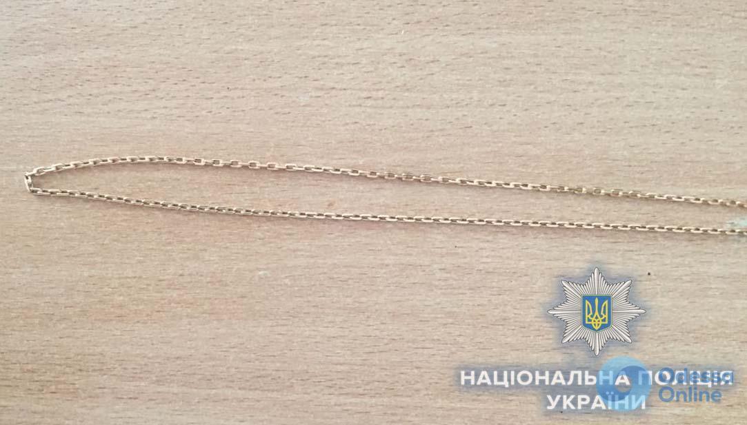 В Одессе задержали женщину-грабителя