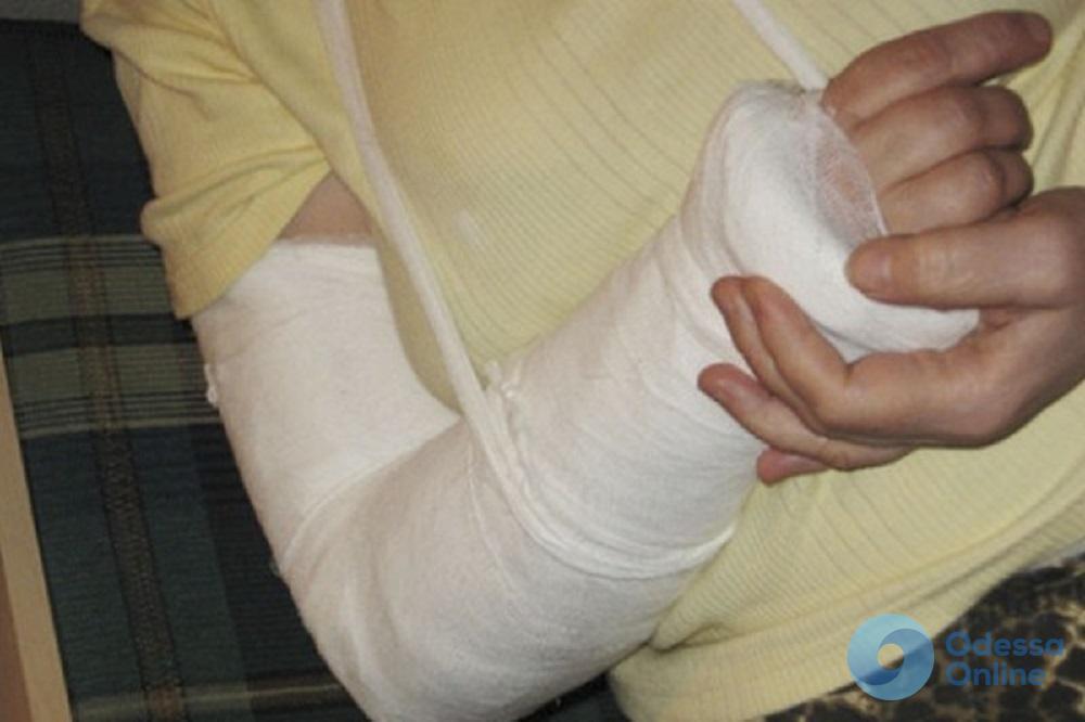 Сделала замечание: в Одессе хозяин собаки набросился с кулаками на пенсионерку