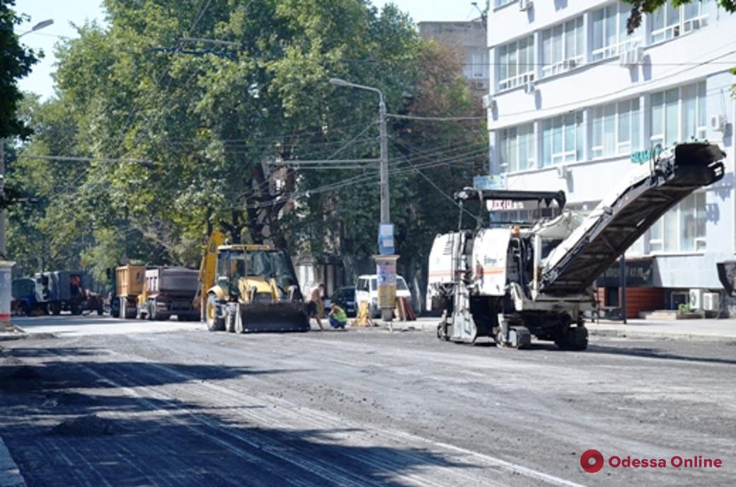 В Одессе завтра откроют для движения транспорта улицу Сегедскую