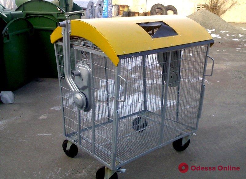 В Одессе планируют установить новые контейнеры для пластикового мусора
