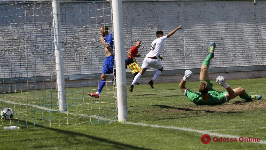 Молодежный состав «Черноморца» в меньшинстве забил два мяча в ворота киевского «Динамо»