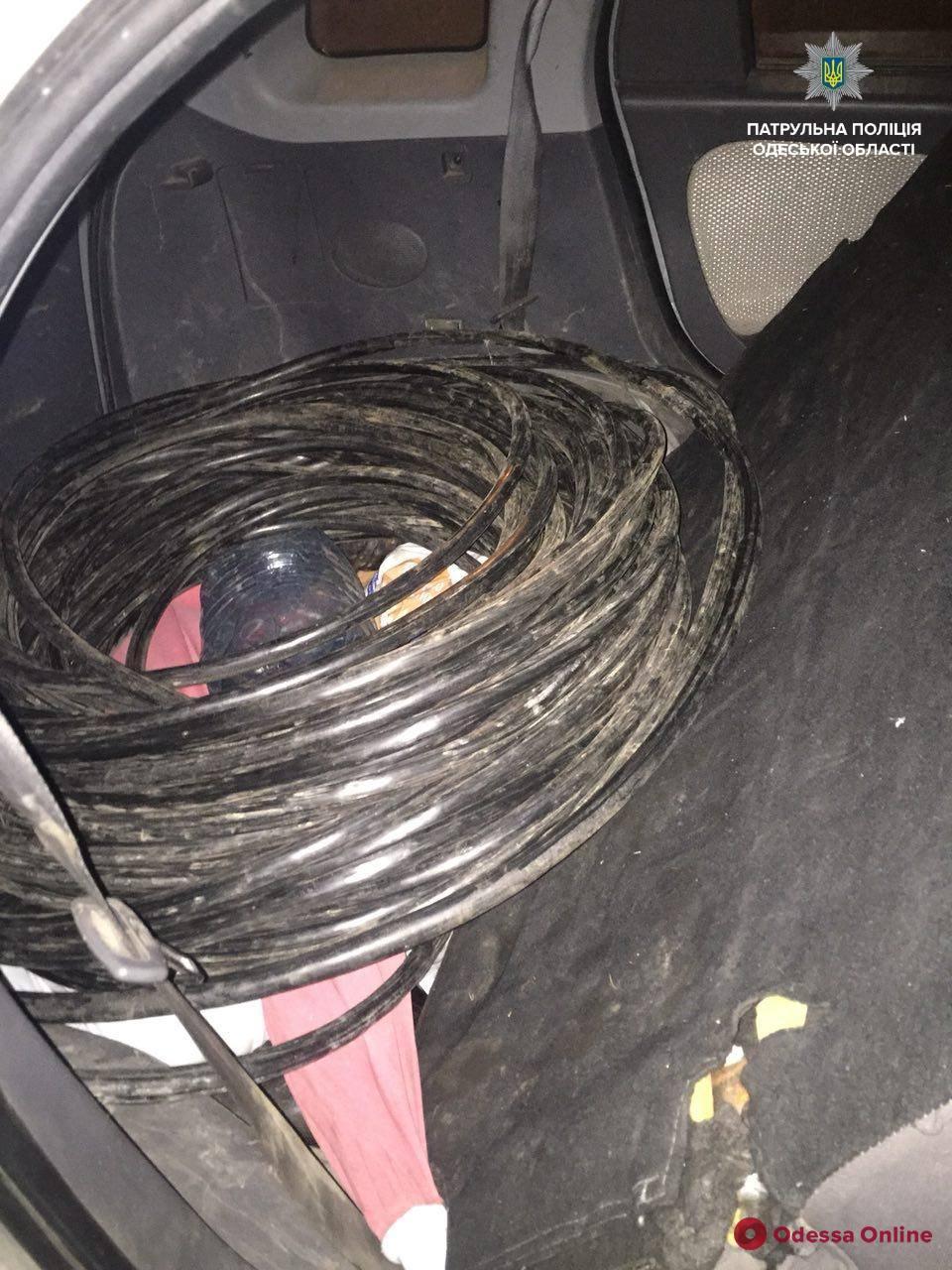 Одесса: полиция поймала кабельных воров