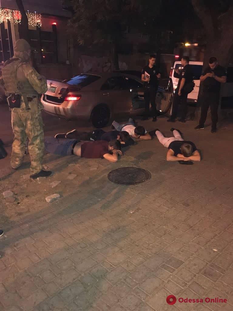 Подробности задержания этнической банды в Одессе